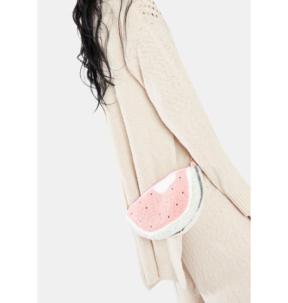 Have A Treat Plush Watermelon Crossbody