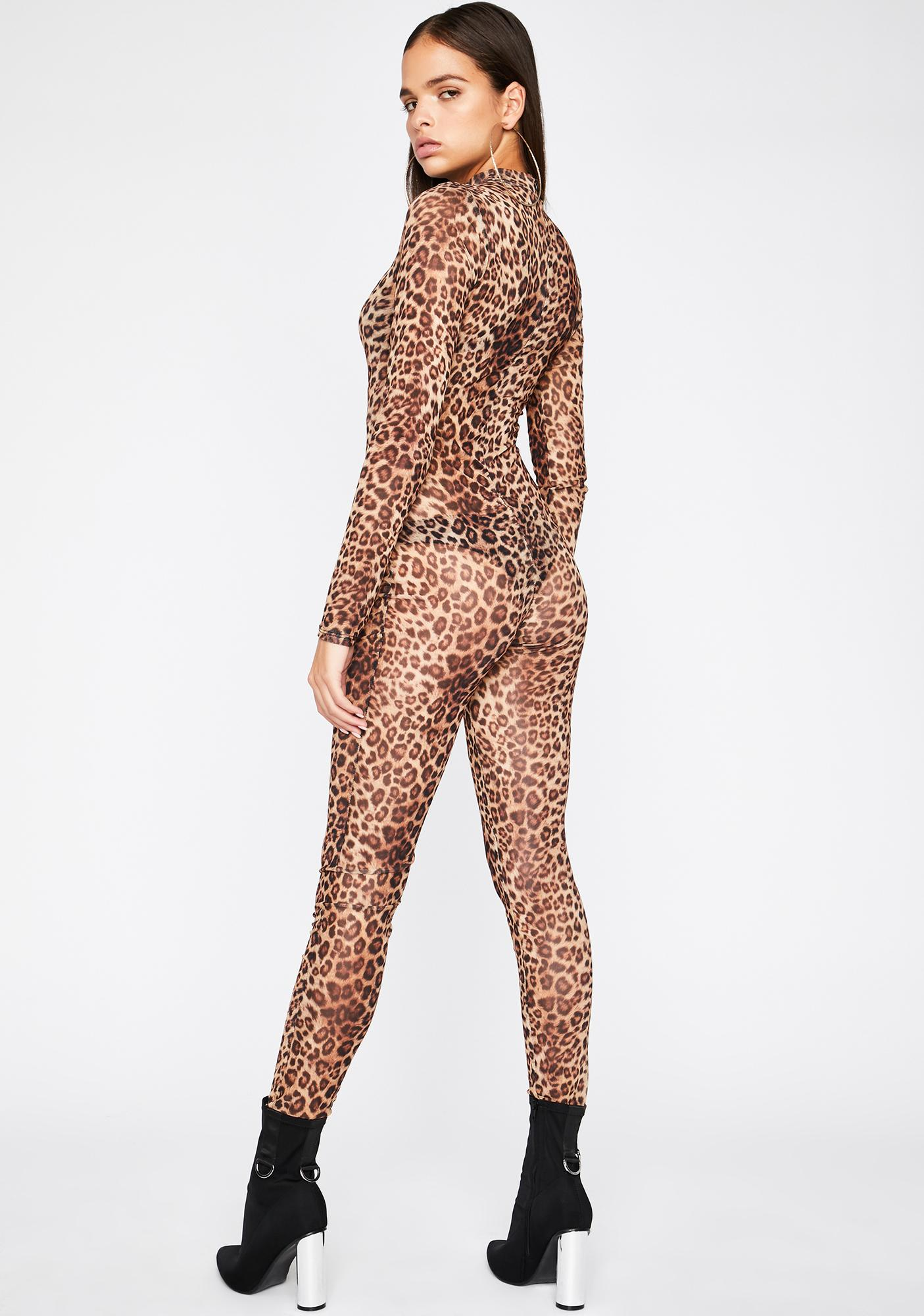 Atomic Alley Cat Sheer Catsuit
