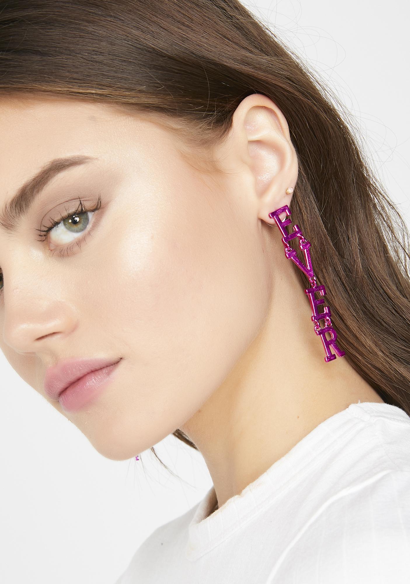 Whateverrrr Statement Earrings