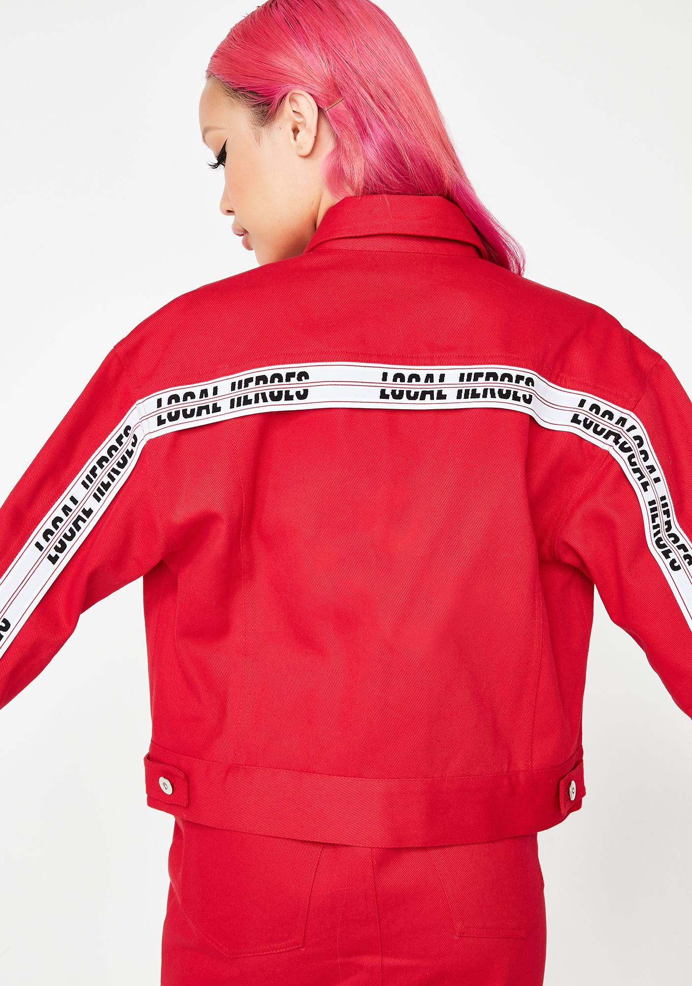 Local Heroes Red Hot Jacket