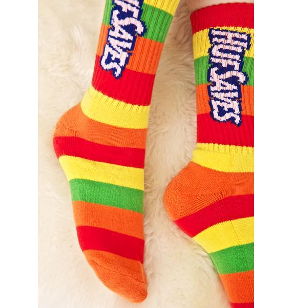 HUF HUF Saves Crew Socks
