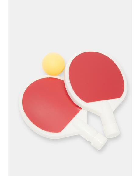 Game Point Ping Pong Flask