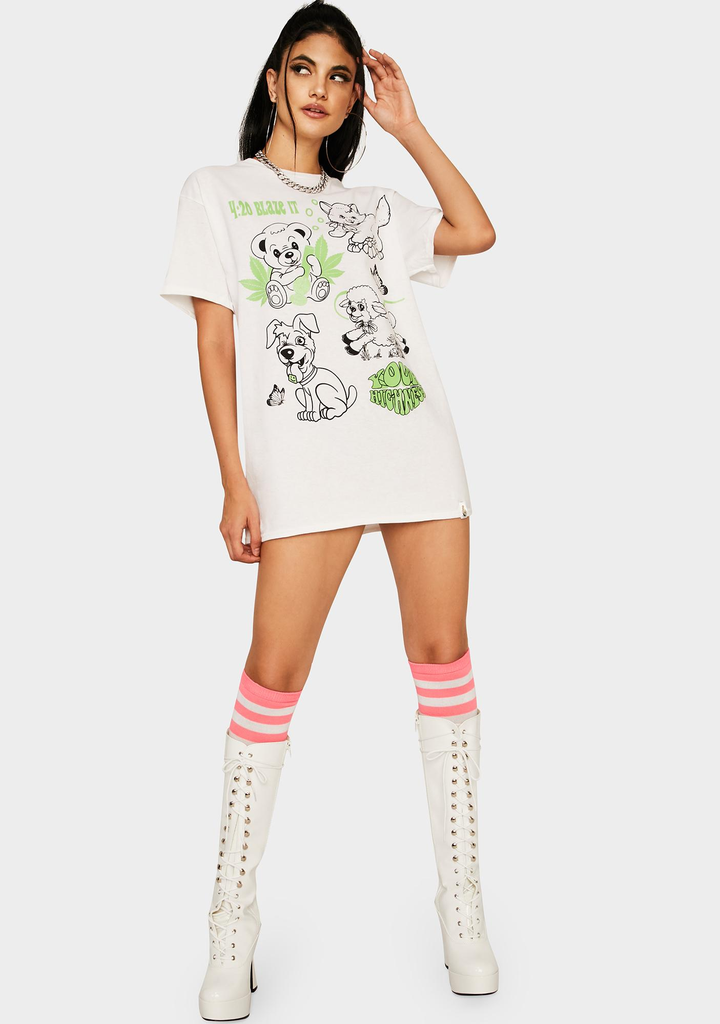 Your Highness Blaze It Glow In The Dark Graphic Tee