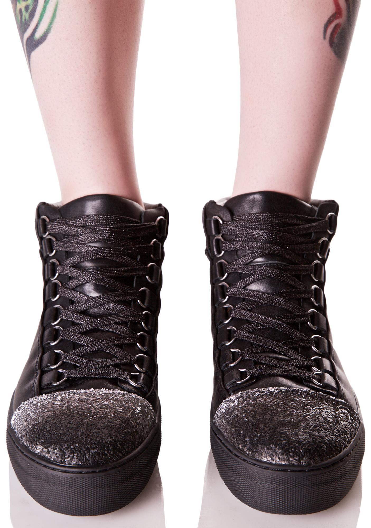 E8 by Miista Adisa Sparkly Sneakers