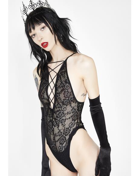 Divine Bloodline Lace Bodysuit