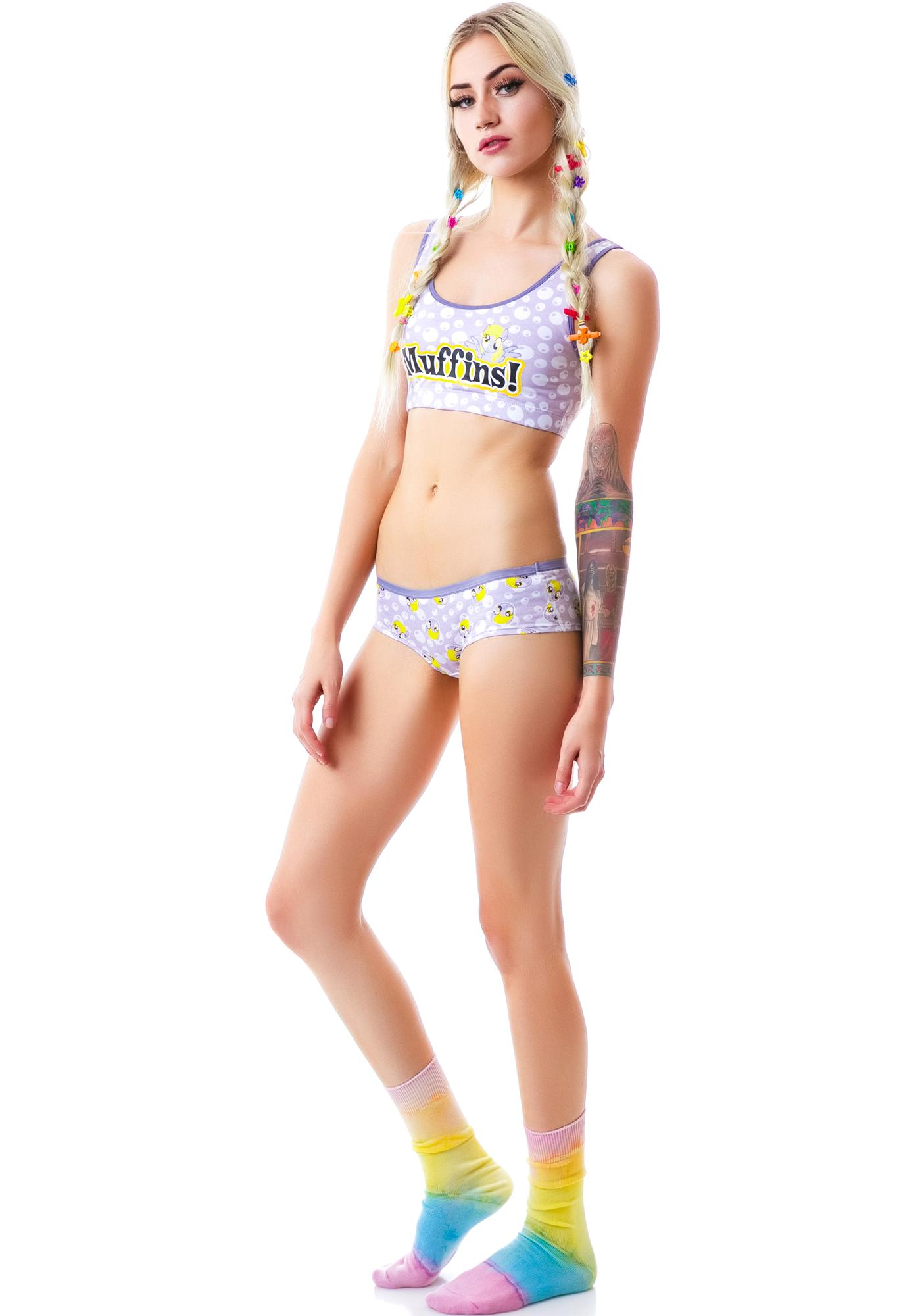 Undergirl Muffins Little Pony Sports Bra