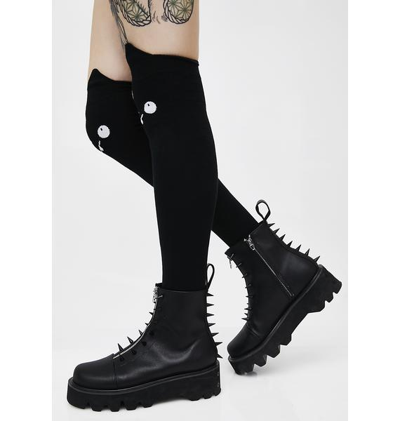 Killstar Nyx Long Socks