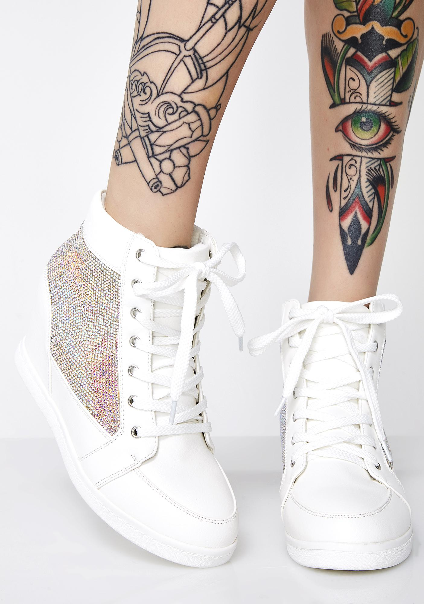 Snow Life Of Leisure Wedge Sneakers