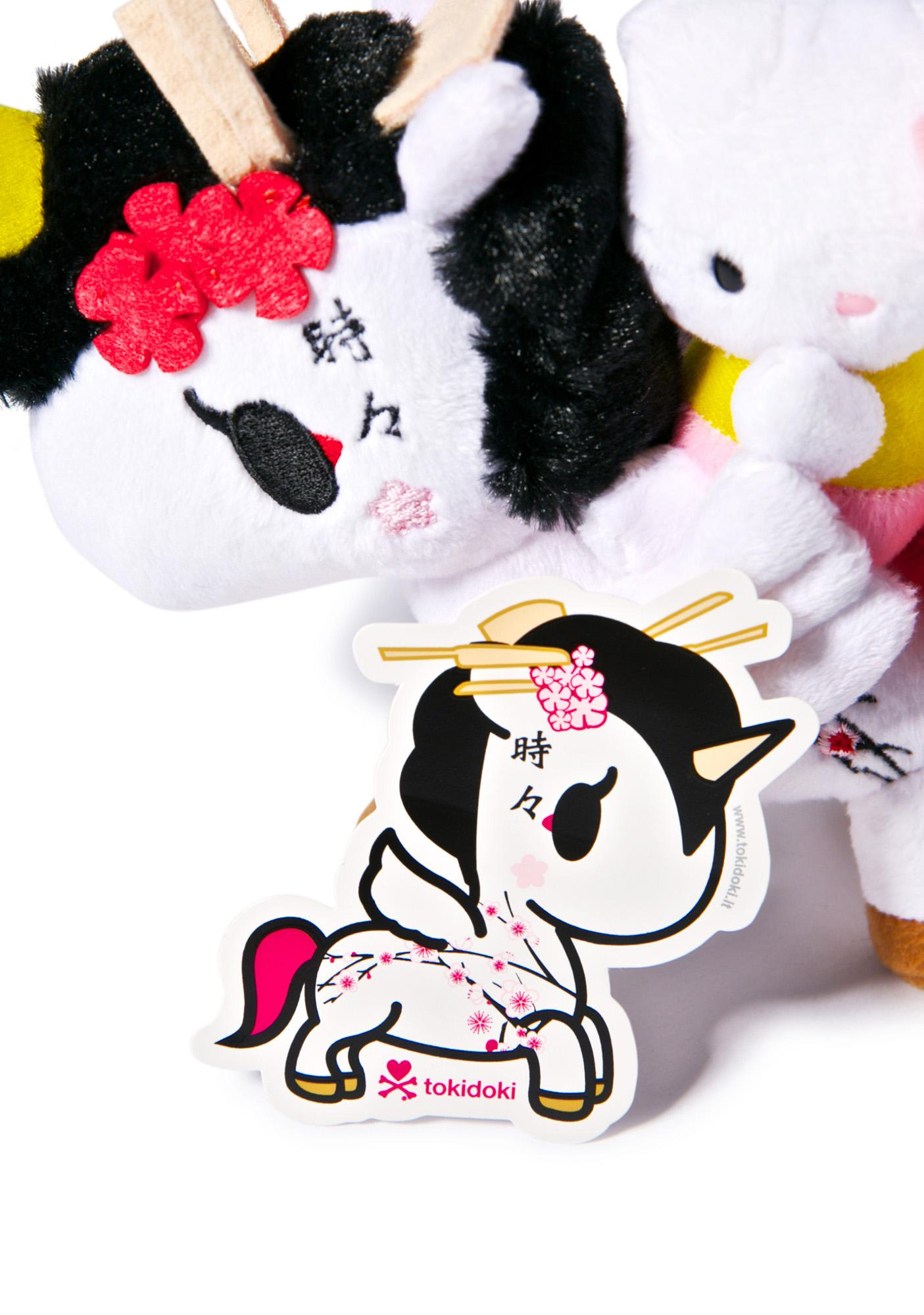 Tokidoki Sakura Sticker
