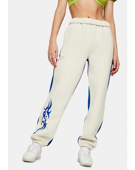LH Tribal Nude Joggers