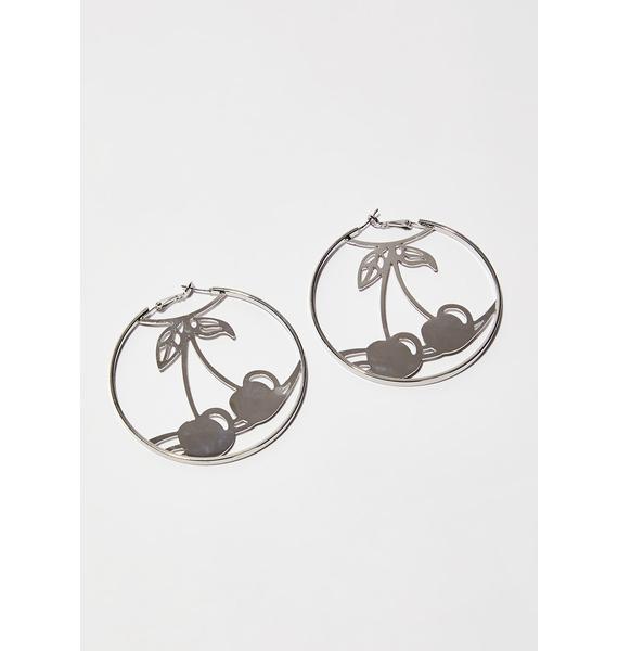 Sweet N' Juicy Hoop Earrings