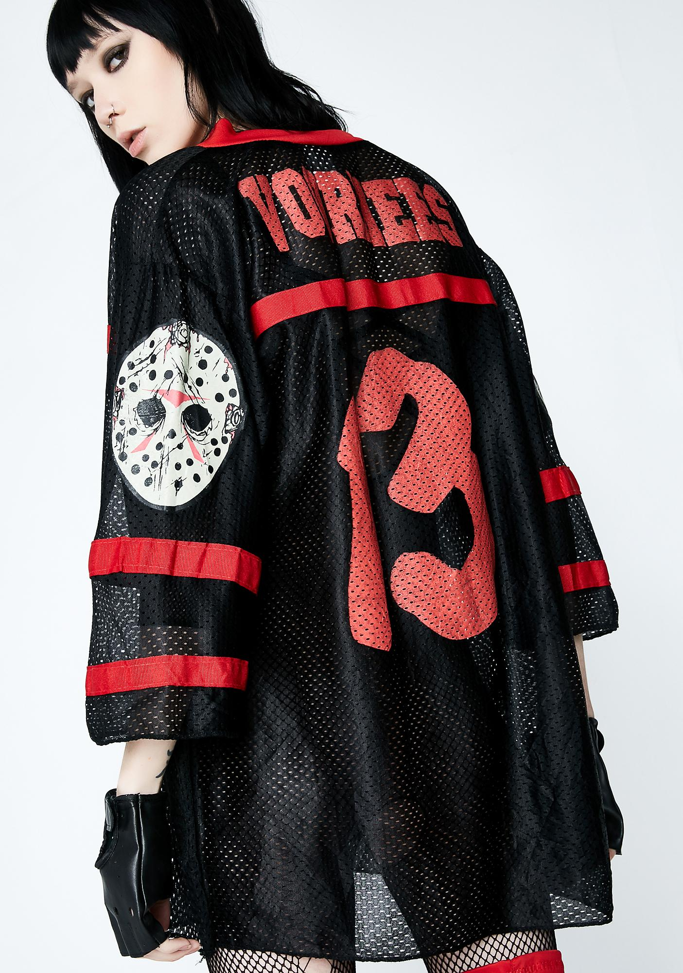 Vintage Rare Friday The 13th Jersey