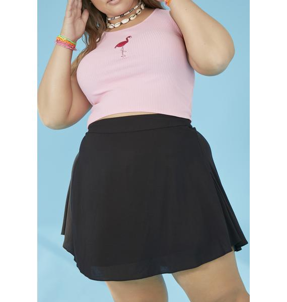 dELiA*s by Dolls Kill C'mon Don't Be Salty Circle Skirt