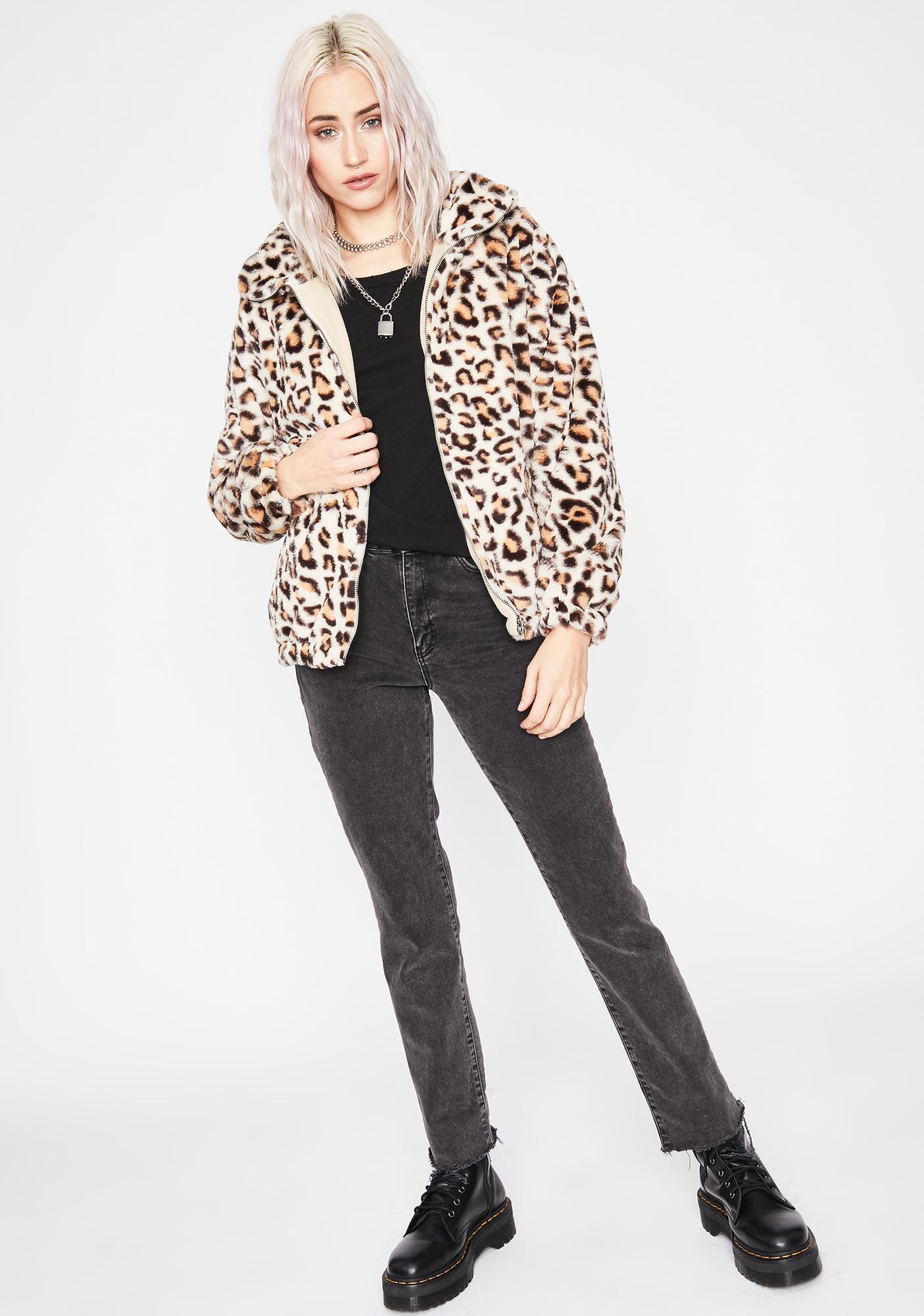 Wild Dreams Faux Fur Coat