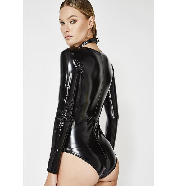 Forplay Secret Desires Lace-Up Bodysuit