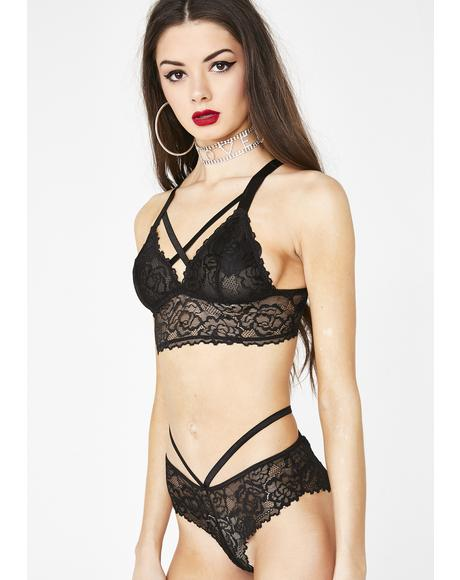 Sinister Love Potion Lace Bra