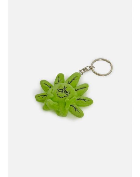 Green Buddy Keychain