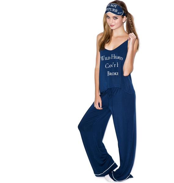 Wildfox Couture Wild Hearts Can't Be Broken Pajama Set