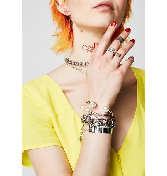 Sea Jewel Pearl Bracelet