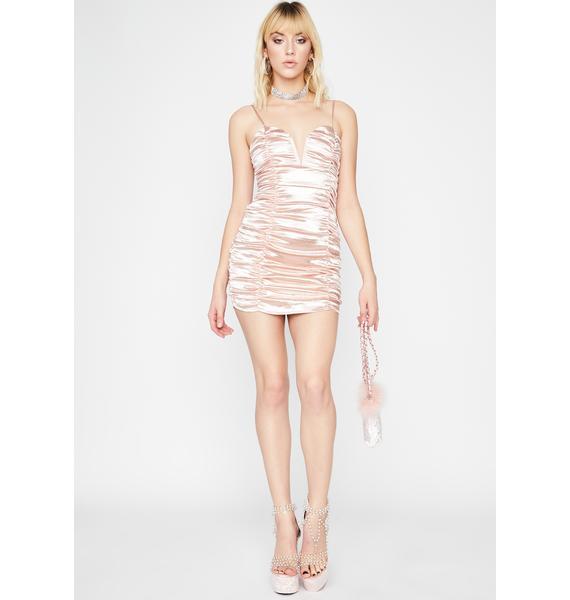 Baby Diva Dreams Satin Dress