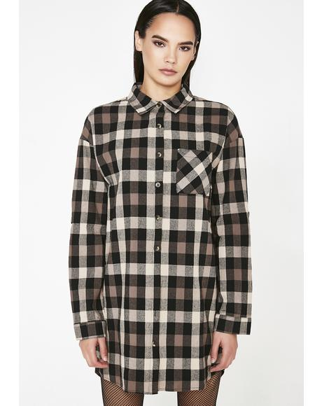 Flunkin' Punk Plaid Shirt