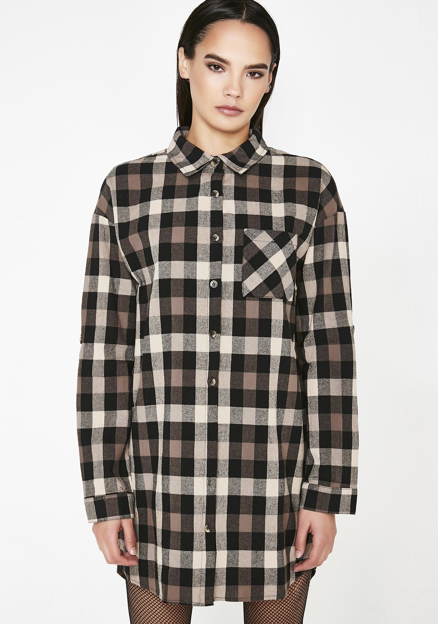 Flunkin' Punk Plaid Shirt