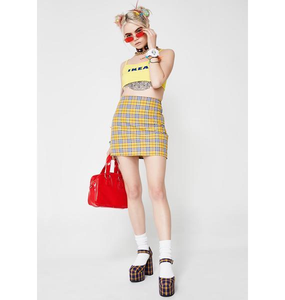 O Mighty Clueless Mini Skirt