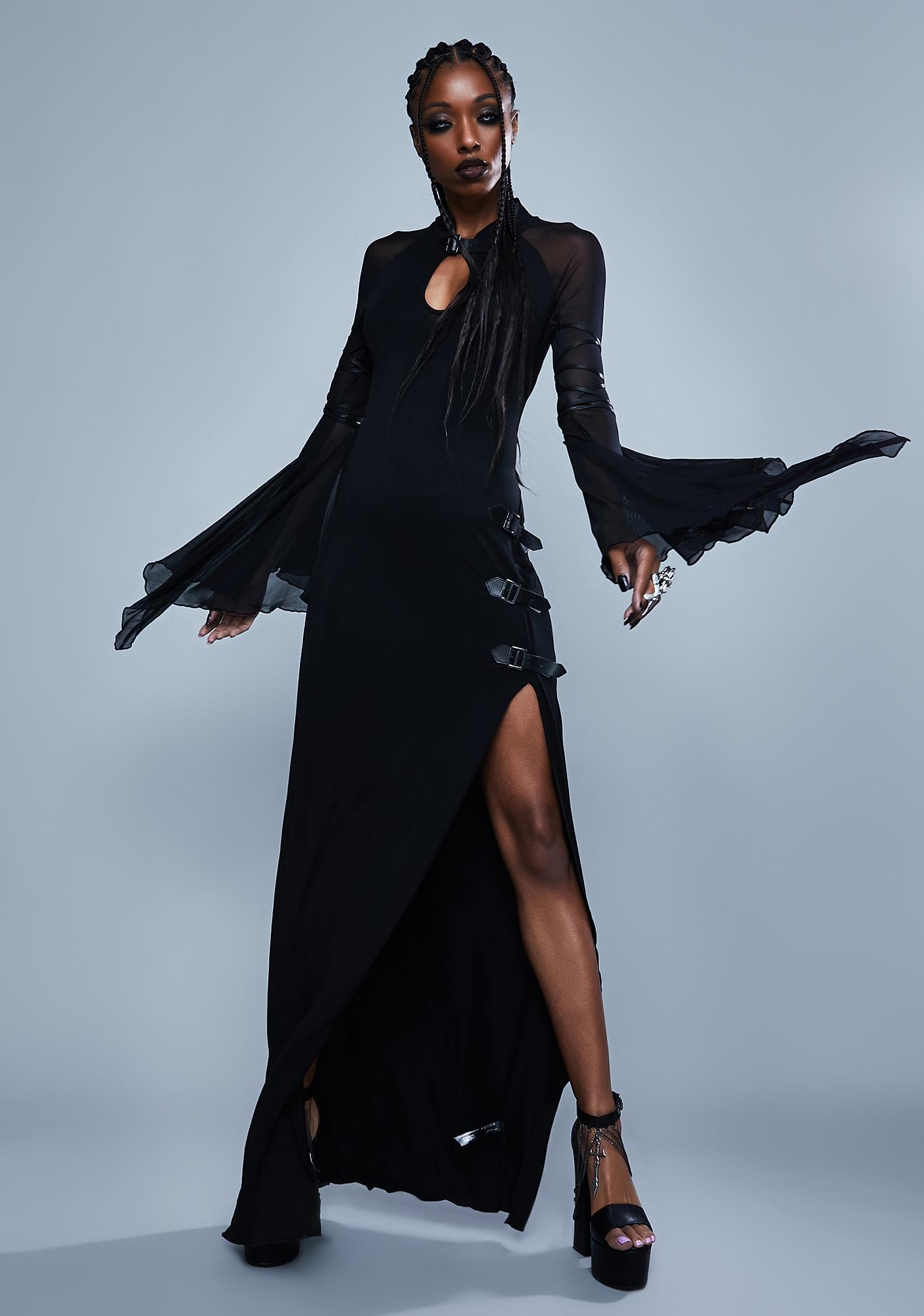 Widow Beyond Ruin Bell Sleeve Dress