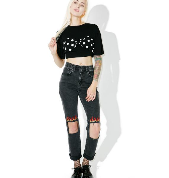 Hey Dottie Crop Top