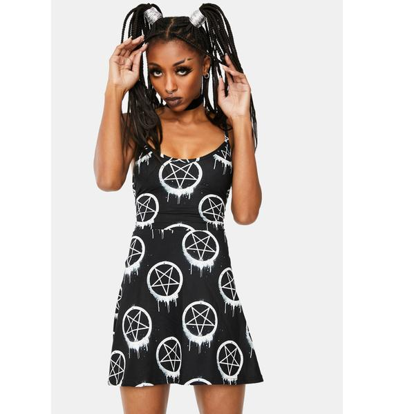Too Fast Melt With You Skater Dress