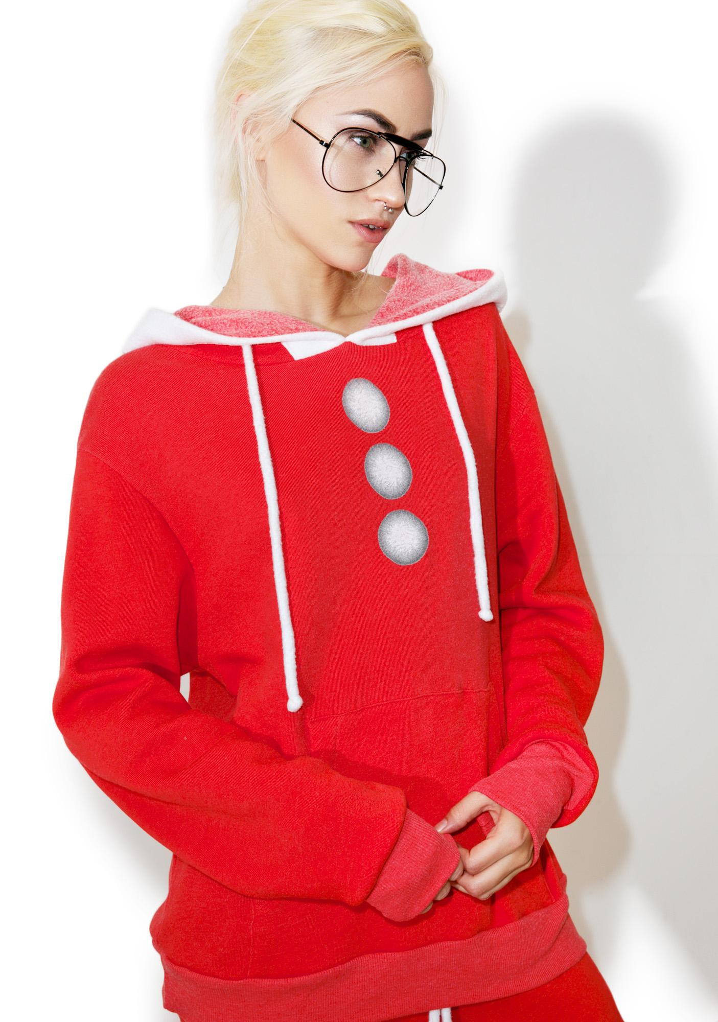 Wildfox Couture Santa's Helper Cuddles Hoodie