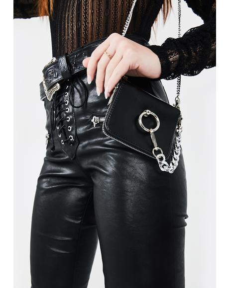 Ur Death Wish Chain Crossbody Bag