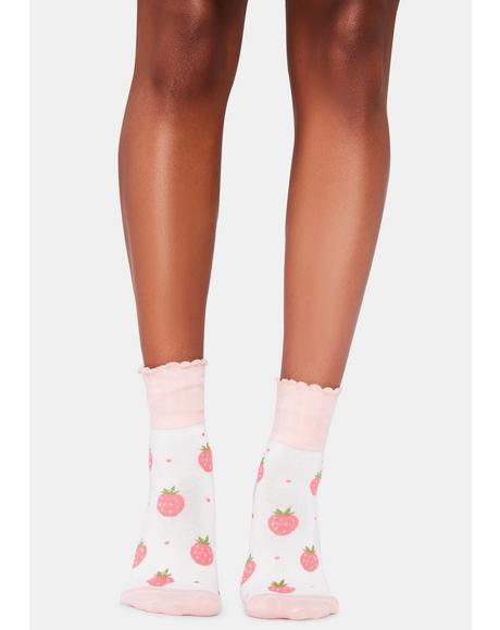 Shortcake Sweetie Ankle Socks