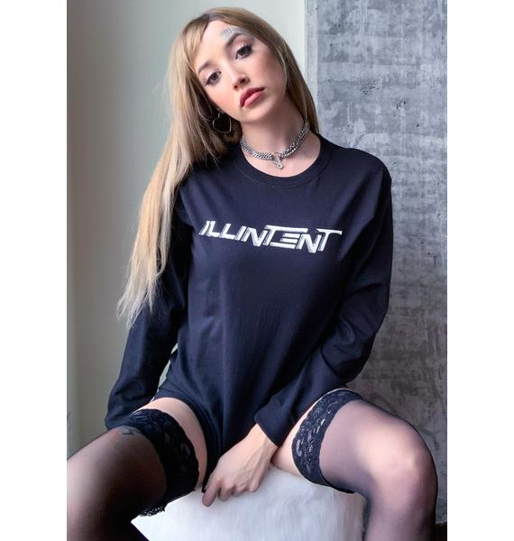 ILL INTENT Ecstasy Long Sleeve Graphic Tee