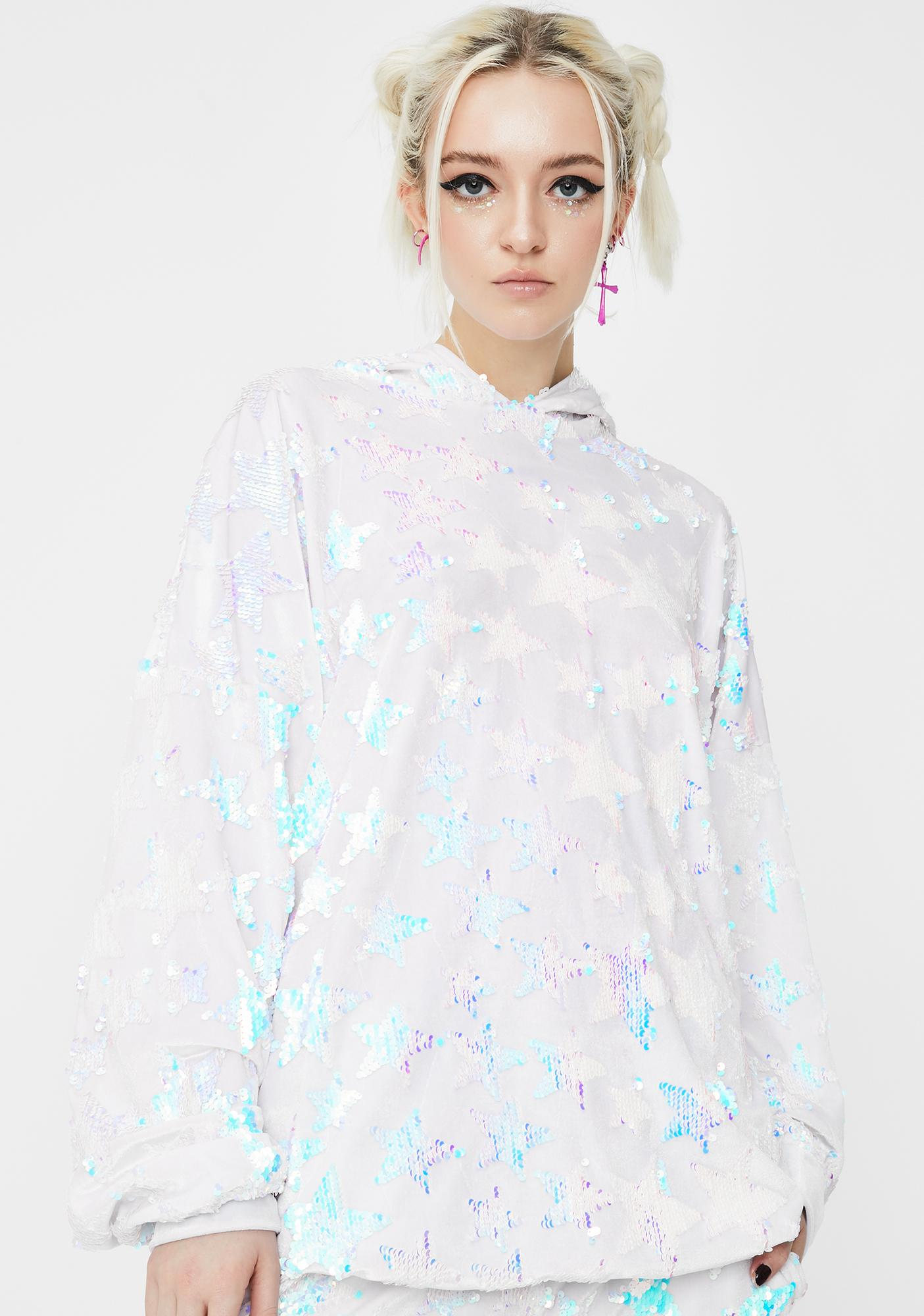 Sparkl Fairy Couture Baby I'm A Star Oversized Hoodie