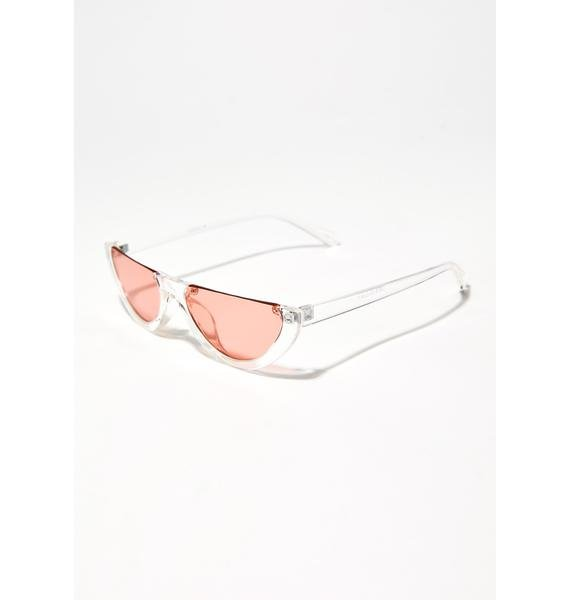 Champagne Fazed Out Sunglasses