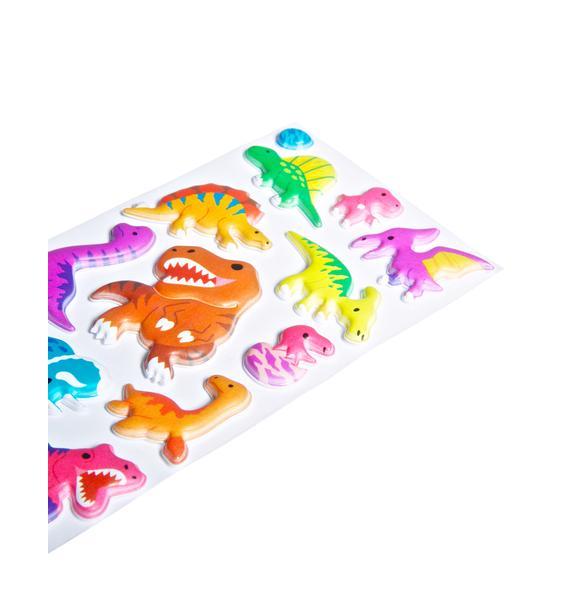 Derpasaurus Sticker Set