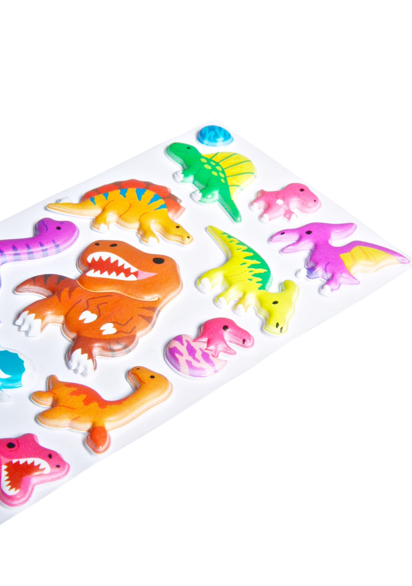 Derpasaurus Sticker Set