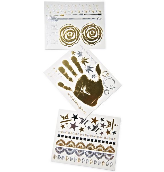 Bristols Six Rocker Nippies Flash Tattoos