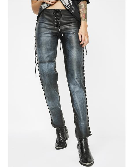 Destroyer Lace-Up Pants