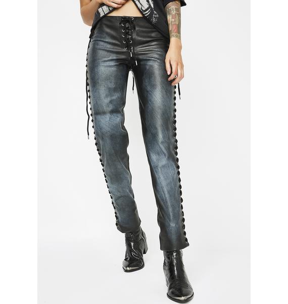 Destroyer Lace-Up Pants