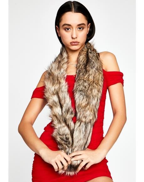 Kinky Minx Faux Fur Scarf