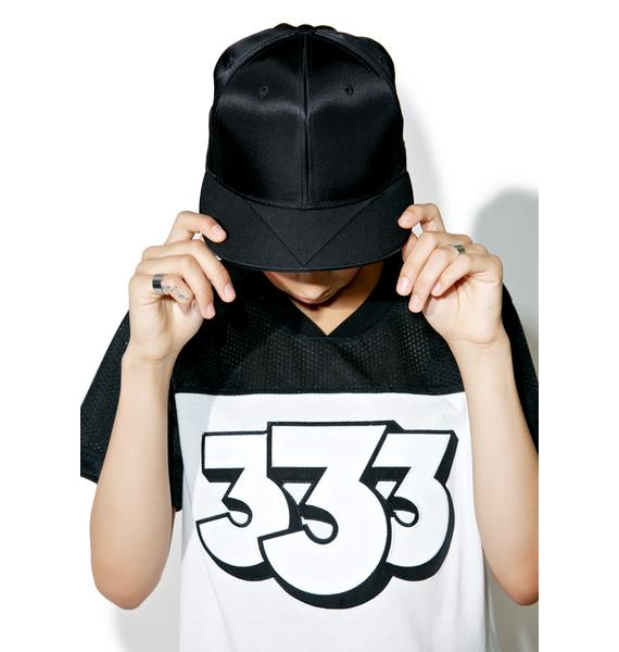 Black Scale Nylon MA-1 Snapback