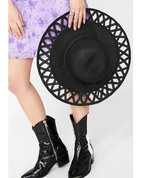 Cosmic Rays Straw Hat