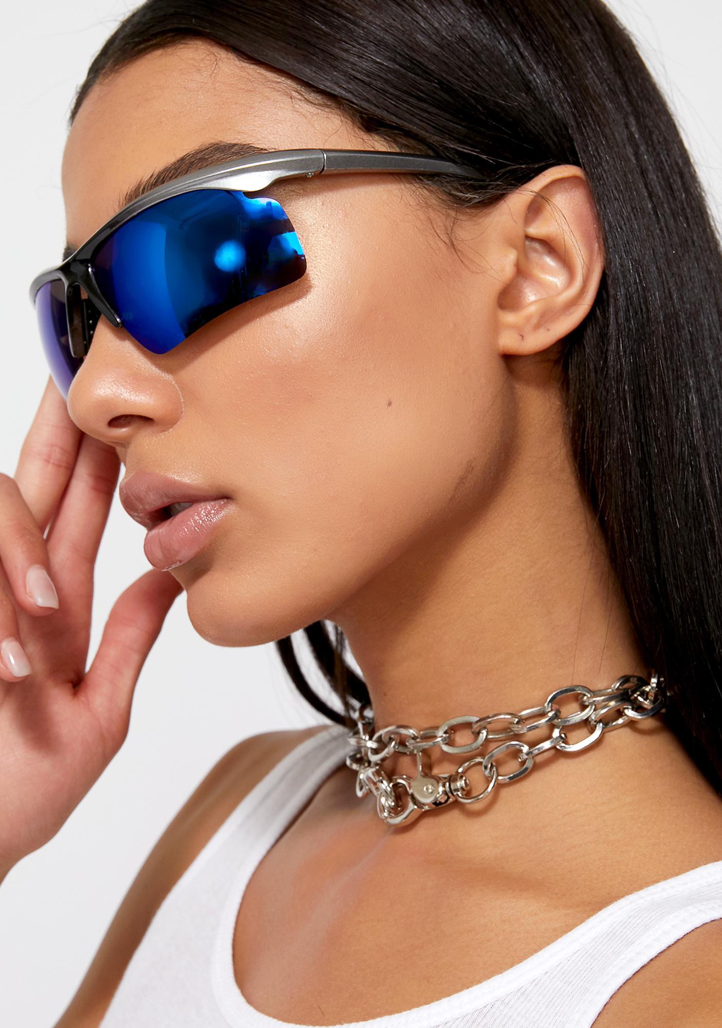 Cobalt Speed Demon Reflective Sunglasses