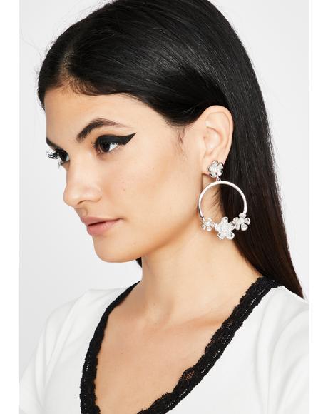 Growin' In Circles Hoop Earrings