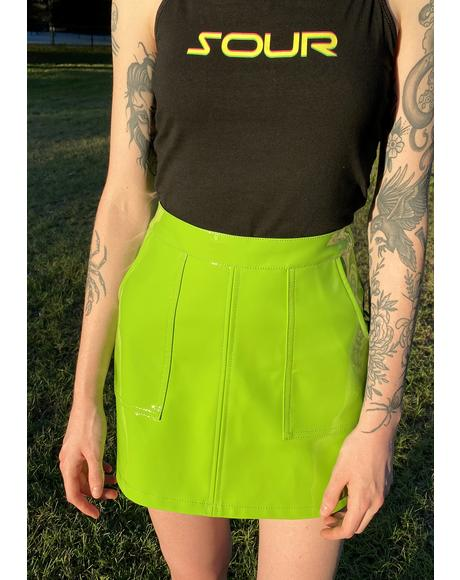 Different Reality Mini Skirt