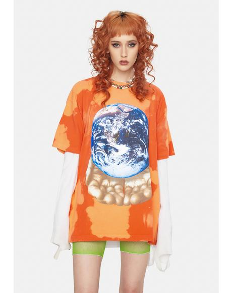 Our Planet Is In Our Hands Graphic Tee
