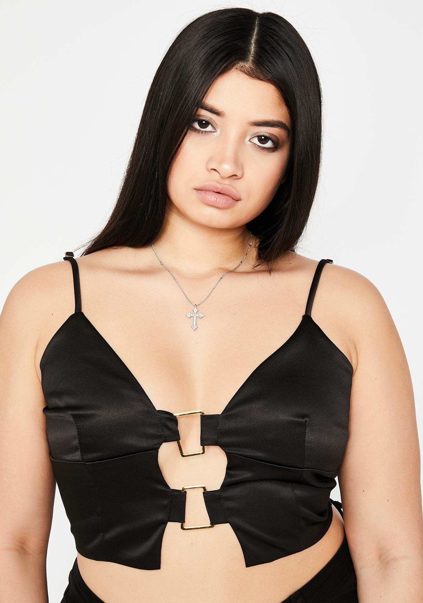 Gonna Lose My Love Cut Out Top