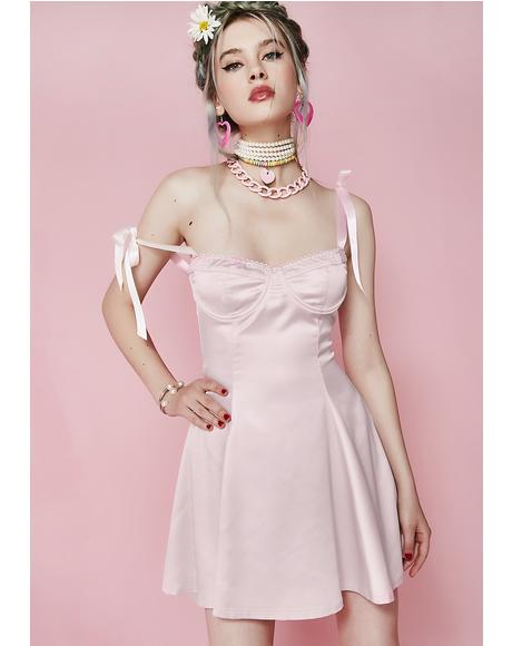 Flirt With Desire Satin Dress